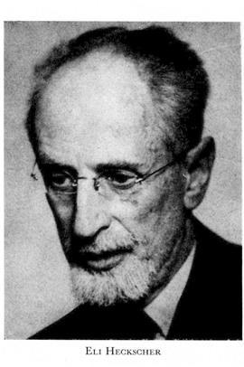 Image result for Eli F. Heckscher