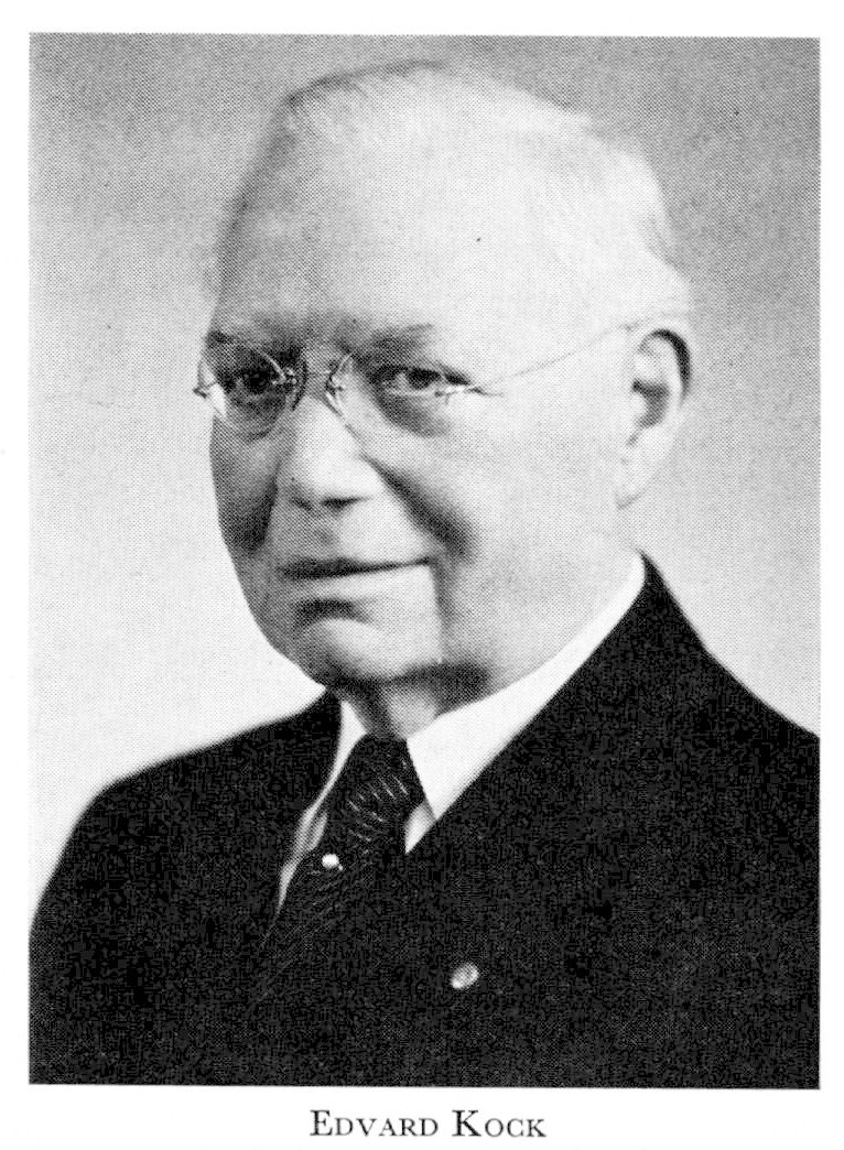 J Edvard Olson Kock - Svenskt Biografiskt Lexikon