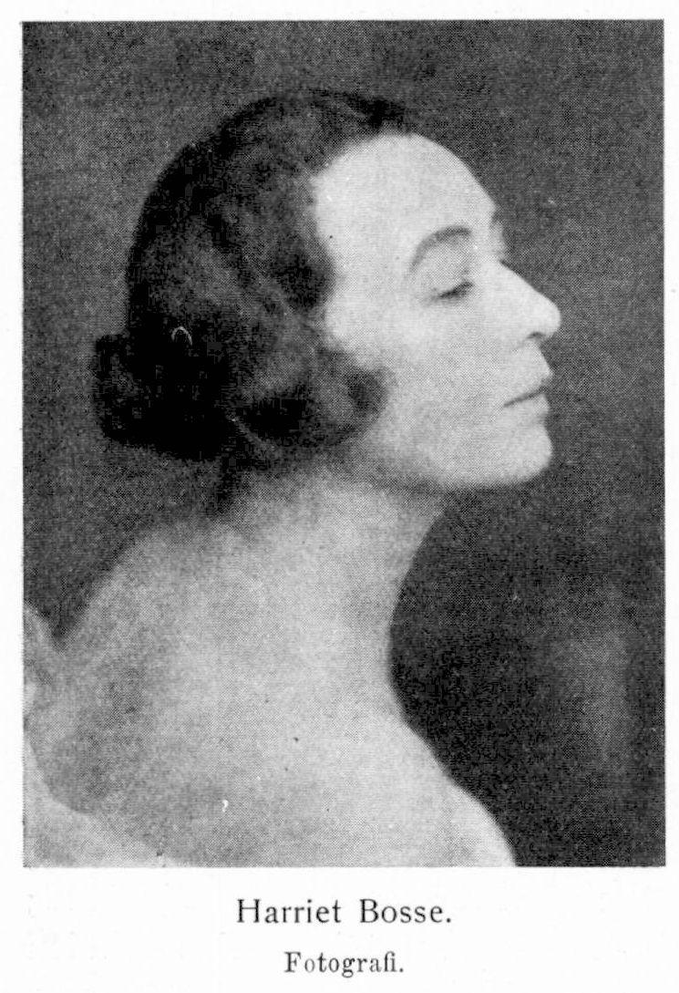 Harriet Bosse biography